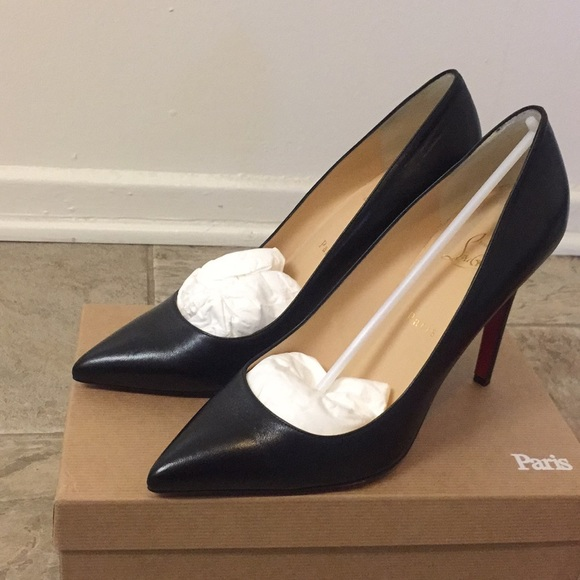 6e792fe3bf Christian Louboutin Shoes | Pigalle 85 Mm Black Size 41 | Poshmark